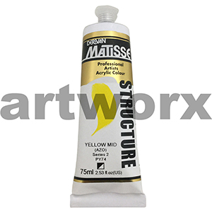 Yellow Mid Azo s2 Derivan Matisse Structure 75ml