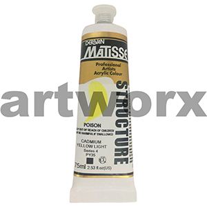 Cadmium Yellow Light s4 Derivan Matisse Structure 75ml