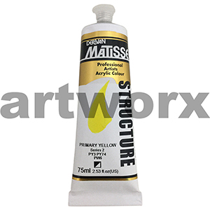 Primary Yellow s2 Derivan Matisse Structure 75ml