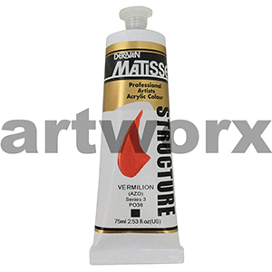 Vermillion s3 Derivan Matisse Structure 75ml