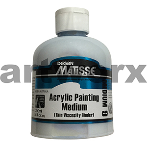 Acrylic Painting Medium 250ml Matisse Medium