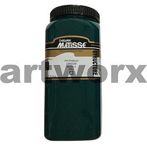 Phthalo Green s2 500ml Matisse Structure Acrylic Paint