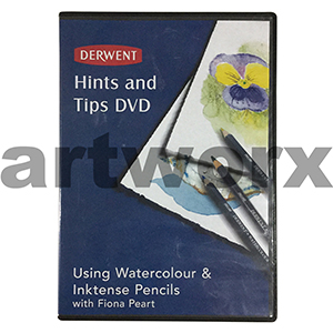 Derwent Hints and Tips Using Watercolour & Inktense Pencils with Fiona Peart DVD