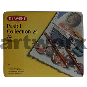 24 Derwent Pastel Collection