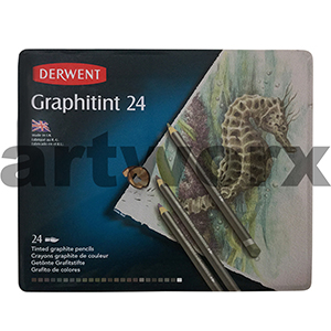 24pc Tin Graphitint Derwent Pencils
