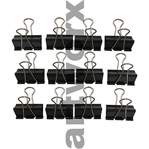 12pk 2inch Dingli Binder Clips
