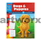 Learn to Draw Dogs & Puppies Walter Foster Books