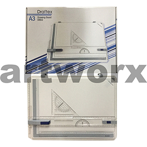 A3 Draftex Drawing Board with Parallel Rule