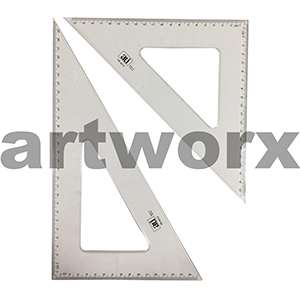 Draftex Set Square Set 12