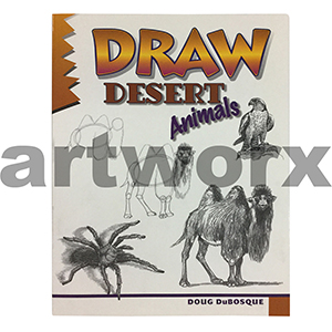 Draw Desert Animals Book by Doug DuBosque