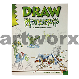 Draw Monsters Book by Damon J Reinagle