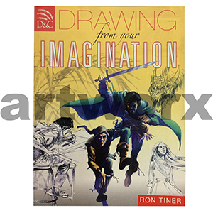 Drawing from your Imagination Illustration Book by Ron Tiner