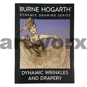 Dynamic Wrinkles and Drapery Book by Burne Hogarth