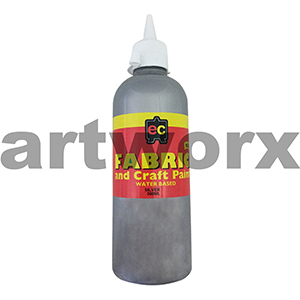 Silver Fabric Paint 500ml Educational Colours