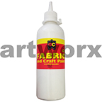 White Fabric Paint 500ml Educational Colours