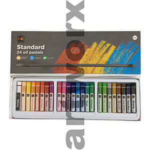 24pc Standard Oil Pastels EC