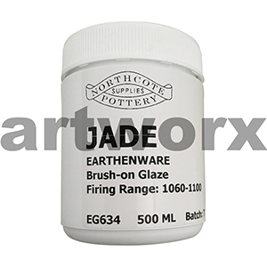 Jade 500ml Earthenware Glaze
