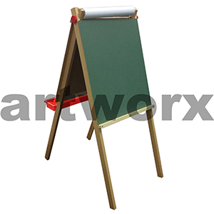 Easel Kids Double-sided Blackboard/Whiteboard 2