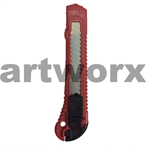 Economy Stanley Knife Red