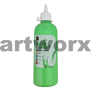 Green Educational Colours Glow in the Dark UV Paint 500ml