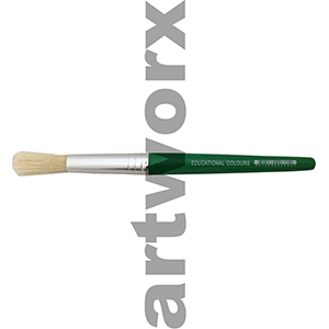 Green Stubby Paint Brush