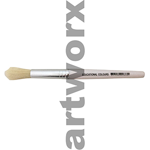 White Stubby Paint Brush