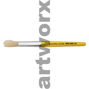 Yellow Stubby Paint Brush