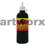 Black Fabric Paint 500ml Educational Colours
