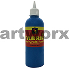 Fluorescent Blue Fabric Paint 500ml Educational Colours