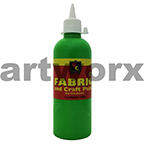 Fluorescent Green Fabric Paint 500ml Educational Colours
