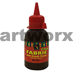 Brown Fabric Paint 125ml EC