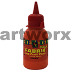 Orange Fabric Paint 125ml EC