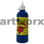Fluorescent Blue Liquicryl Junior Acrylic 500ml Educational Colours