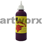 Fluorescent Violet Liquicryl Junior Acrylic 500ml Educational Colours