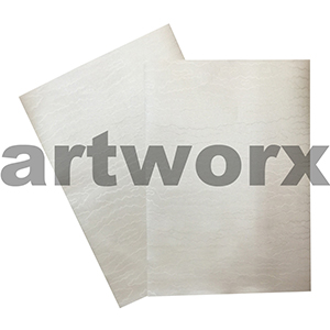 Embossed Watermark Silk White 110gsm Metallic Paper