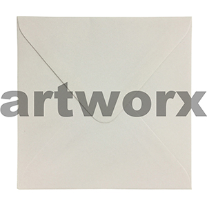 20pc White Colourful 150x150mm Envelope