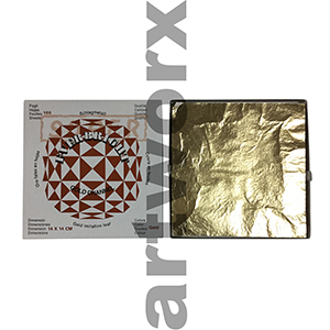 140x140mm 100pcs Imitation Gold Leaf Everbright