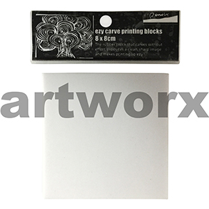80x80mm Ezy Carve Printing Block