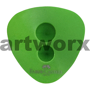 Double Hole Green Faber-Castell Sharpener