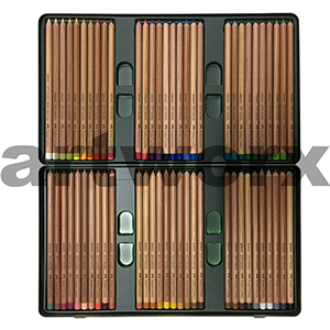 60pc Tin Pitt Faber-Castell Pastel Pencils