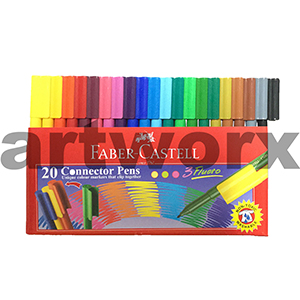 20pc Connector Pens Faber Castell