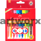 10pk Faber Castell Connector Twistable Crayon Colors