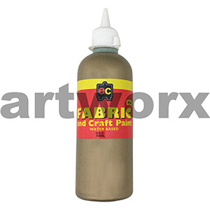 Gold Fabric Paint 500ml Educational Colours