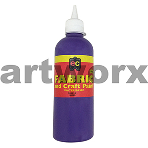 Purple Fabric Paint 500ml Educational Colours