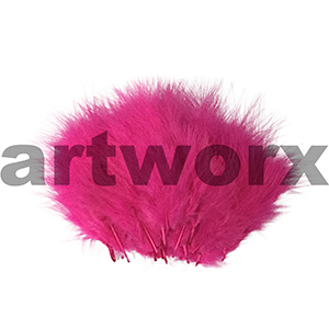 Arbee - Feathers - Pink 20pc