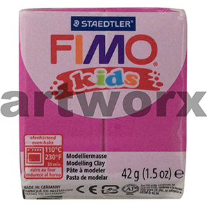 Fuchsia No.220 Kids Fimo 42gm Block