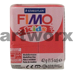 Red No.2 Kids Fimo 42gm Block