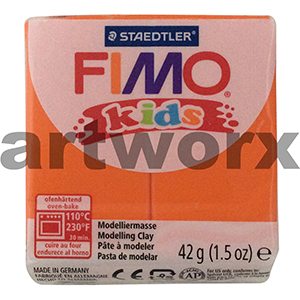 Orange No.4 Kids Fimo 42gm Block