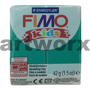 Green No.5 Kids Fimo 42gm Block