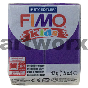 Lilac No.6 Kids Fimo 42gm Block